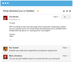 join our team distilled what attracted you at distilled