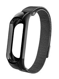 Металлический ремешок для фитнес-браслета Xiaomi Mi Band 3 ...