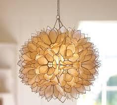 capiz flower pendant capiz shell lighting fixtures