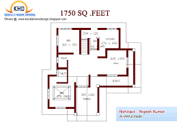 Home plan and elevation   Sq  Ft   home applianceHome plan and elevation   Square Feet