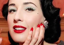 """Résultat de recherche d'images pour """"maquillage pin up année 50"""""""