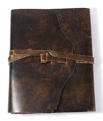 <b>Genuine Leather Journal Notebook Travel</b>/Wood Free/Acid Free ...