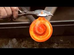 Artful Ashes ~ <b>Hand Blown Glass</b> Heart with Your Loved One's ...
