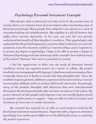 Help with your Personal Statement of Purpose for Graduate School in Psychology  MA  PHD  PsyD