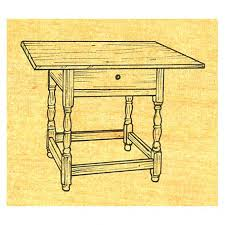 tavern table country kitchen table stock 10 by garrett wade american furniture patterns
