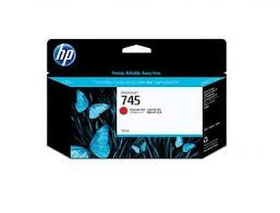 <b>HP 745</b> Original 130ml <b>Chromatic</b> Red <b>DesignJet</b> Ink Cartridge ...