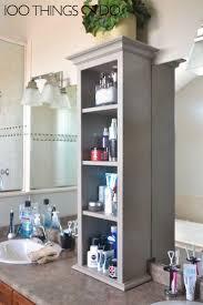 Bathroom Tower Storage 17 Best Ideas About Bathroom Vanity Storage On Pinterest