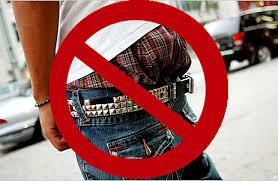 Image result for black boy pants low