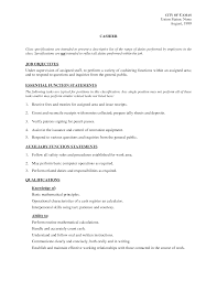 fast food server resume sample food server description for resume food server job description