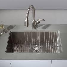 undermount kitchen sink stainless steel: stainless steel kitchen sinks kraususa luxury stainless steel kitchen sink