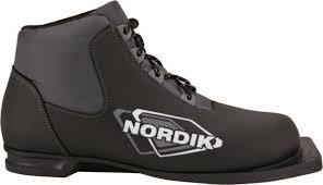 <b>Ботинки лыжные NN75 Spine</b> NORDIK черный р. 44 — купить в ...
