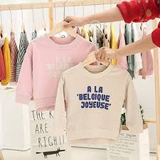 Buy <b>New Spring Autumn</b> Baby Boys Girls Clothes Cotton Letter ...