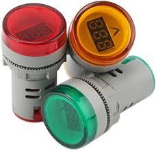 SODIAL(R) Digital Mini <b>LED</b> Display Voltmeter AC 60-500V Voltage ...