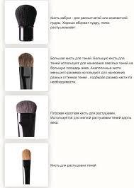 <b>Кисти для макияжа</b>: какая для чего? Фото, видео | <b>Кисти для</b> ...