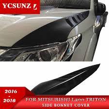 abs for mitsubishi accessory rain window visor l200 triton 2006 2014 side deflectors ycsunz