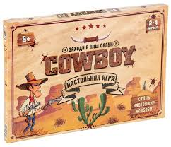<b>Настольная игра STRATEG Cowboy</b> — купить по выгодной цене ...