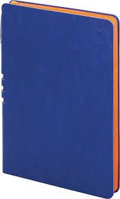 <b>Бизнес</b>-<b>блокнот Brauberg Nebraska</b>, в линейку, 110948, синий ...