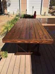 long wood dining table: diy large outdoor dining table seats   diy outdoor furniture outdoor living