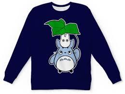 "Детский свитшот унисекс ""<b>Мой сосед Тоторо</b> (My Neighbor <b>Totoro</b> ..."