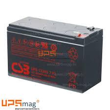 <b>Аккумулятор CSB UPS</b> 12360 7 (12V / 7.5Ah)