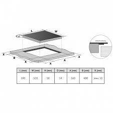 Индукционная варочная панель <b>HI</b> 64013 B