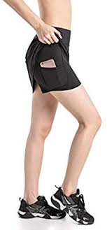 <b>EAST HONG Women's</b> Pocket <b>Tennis</b> Skorts Sports Workout ...