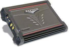 kicker zx300 1 mono subwoofer amplifier 300 watts rms x 1 at 2 kicker zx300 1 mono subwoofer amplifier 300 watts rms x 1 at 2 ohms at crutchfield com
