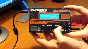 Пример зарядки <b>аккумулятора</b> с помощью Turnigy Accucel-6 50W ...