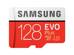 MicroSDXC <b>EVO Plus Memory</b> Card w/ Adapter 128GB (2017 Model ...