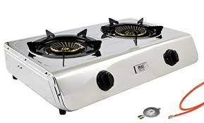 Portable <b>Gas Stove</b> Single 1 Burner Camping Cooker <b>Outdoor</b> ...