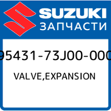 Купить VALVE,EXPANSION, Suzuki, 95431-73J00-000 в каталоге ...