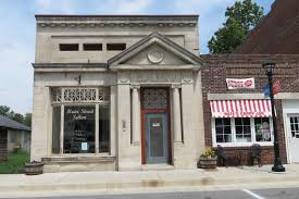 our small towns are dying housesandbooks this wonderful early 20th century bank building now serves a humbler purpose