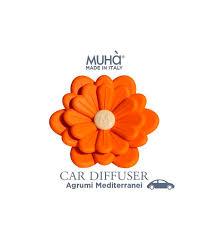 Автомобильный <b>диффузор Цветок</b> Тосканский цитрус, Muha ...