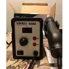Отзывы о Термовоздушная <b>паяльная станция Yihua 858D</b>