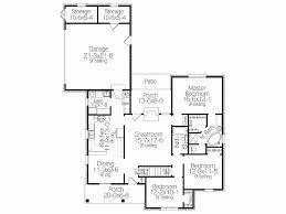 Eplans Traditional House Plan   Modest Comfort   Square Feet    Level