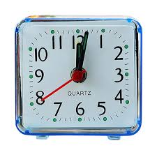 Aimecor <b>Square Small Bed</b> Compact Travel Quartz Beep Clock ...