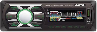 <b>Автомагнитола Digma DCR-300G</b> — цена, купить недорого в ...
