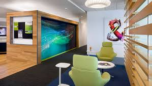 our headquarters open spaces feature natural light clean air and access to views adobe offices san jose san