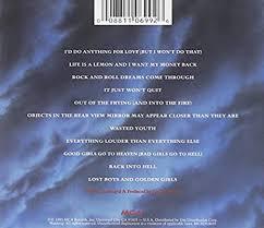 <b>Meat Loaf</b> - <b>Bat</b> out of Hell II: Back into Hell - Amazon.com Music