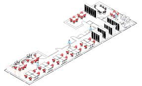 space plan 3 3d cad office space layout