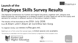 launch of the employee skills survey results