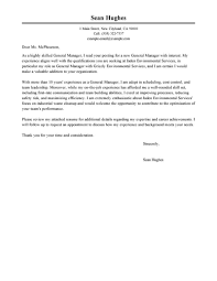 Hotel  amp  Hospitality Cover Letter Examples happytom co