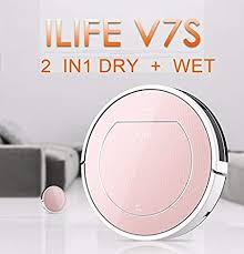 <b>ILIFE</b> V7S Pro Smart Robot Vacuum Cleaner <b>Wet and</b> Dry Sweeping ...