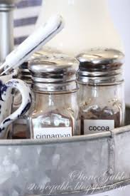 use simple salt and pepper shakers for the coffee station hot chocolate attractive coffee bar home 4