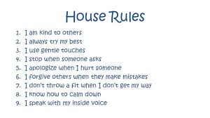 House Rules – to Love, Honor, and Disobey | Grounded Parents via Relatably.com