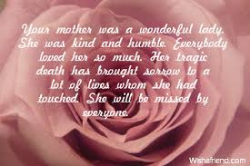 Sympathy Quotes About The Loss Of A Mother - sympathy quotes for ... via Relatably.com