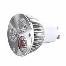 Branded SLB Works New 2XGU10 3W 3 LED high <b>Power spot</b> Light ...