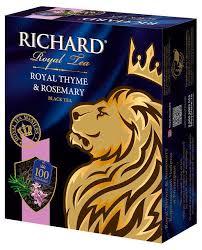 Купить <b>Чай черный Richard</b> Royal Thyme & Rosemary ...