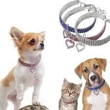 <b>Cute Crystal Pet</b> Collar Dog Pet Necklace Cat Collar Necklace Dog ...