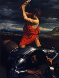 http://www.wikipaintings.org/en/guido-reni/david-and-goliath-1610